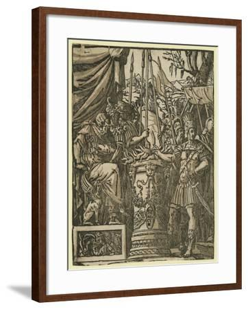 Mutius Scaevola, Between 1584 and 1610--Framed Giclee Print