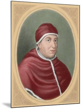 Pope Leo X (1475-1521), Italy--Mounted Giclee Print