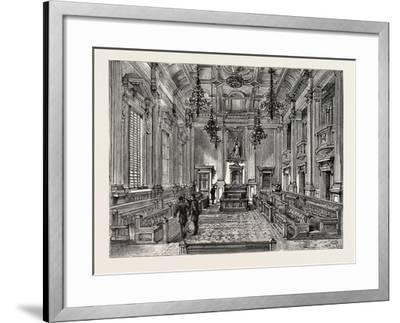 Eaux Chaudes, Pyrenees, 1854--Framed Giclee Print