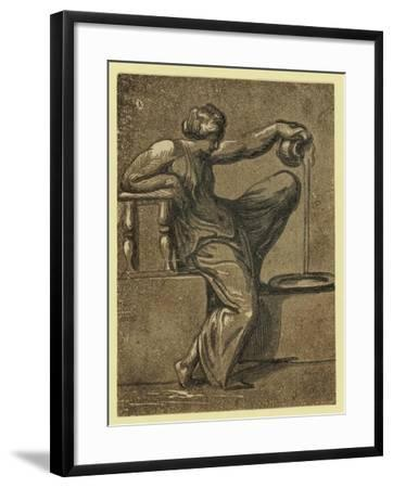 Temperance, Between 1540 and 1610--Framed Giclee Print