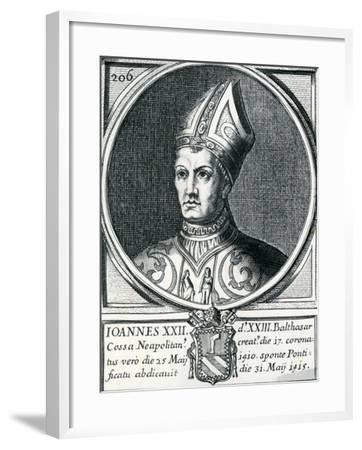 Antipope John XXIII (C.1370-1419)--Framed Giclee Print