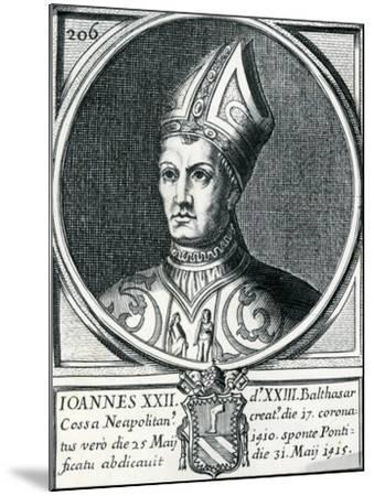 Antipope John XXIII (C.1370-1419)--Mounted Giclee Print