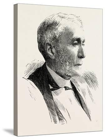 The Right Rev. Henry Philpott, D.D., Bishop of Worcester, 1890--Stretched Canvas Print
