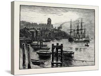 Shields Harbour: the High Lights, UK, Shields, Tyneside, England--Stretched Canvas Print