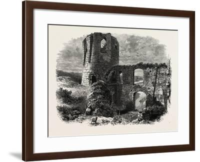 Chateau Gaillard, Normandy and Brittany, France, 19th Century--Framed Giclee Print
