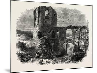 Chateau Gaillard, Normandy and Brittany, France, 19th Century--Mounted Giclee Print
