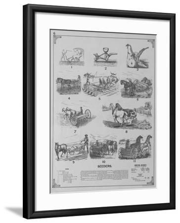 Seeders--Framed Giclee Print