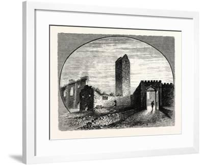 Edinburgh: the Kirk-Of-Field the Kirk of St. Mary-In-The-Fields--Framed Giclee Print