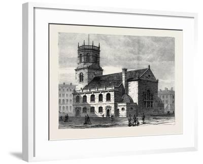 St. Peter's Church Liverpool the Cathedral of the New Diocese 1880--Framed Giclee Print