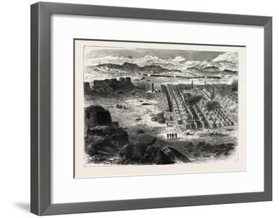 Franco-Prussian War: View of the Camp Pe Conlie Near Mans 1870--Framed Giclee Print