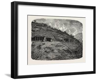 Entrance to the Cave-Temples of Kanhari, Isle of Salsette--Framed Giclee Print