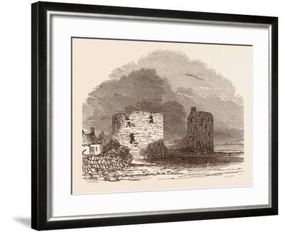 Remains of Flint Castle, Located in Flint, Flintshire, UK--Framed Giclee Print