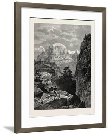 Temple of the Virgin, Mu-Koon-Tu-Weap Valley, Utah, USA--Framed Giclee Print