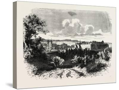 Franco-Prussian War: for the Fortress of Sedan 1870--Stretched Canvas Print