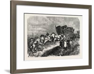 Franco-Prussian War: German Soldiers Battle of Paris 1870--Framed Giclee Print