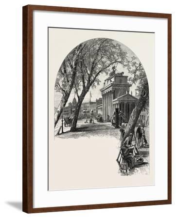 The Brandenburger Thor, Berlin, Germany, 19th Century--Framed Giclee Print