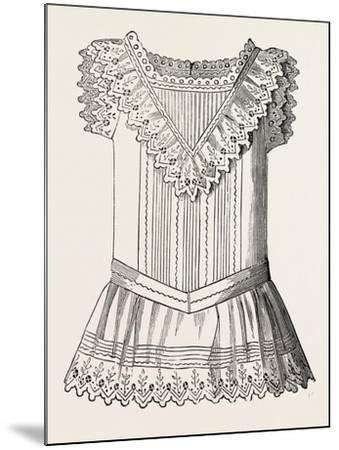 Pinafore for Girl of Three, Front, 1882, Fashion--Mounted Giclee Print