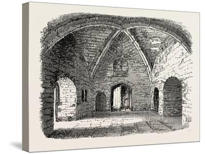Beauchamp Tower: Prison in the Tower of London--Stretched Canvas Print