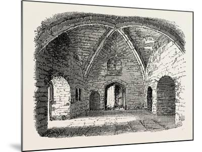Beauchamp Tower: Prison in the Tower of London--Mounted Giclee Print