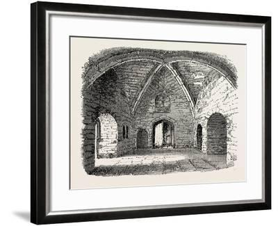 Beauchamp Tower: Prison in the Tower of London--Framed Giclee Print