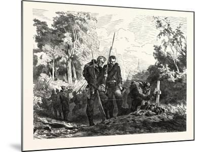 Franco-Prussian War: before Marching Further--Mounted Giclee Print