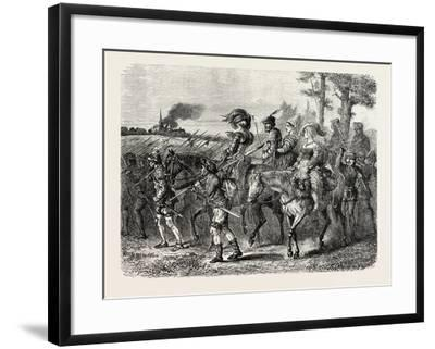 The Jacquerie: Company of Insurgent Peasants--Framed Giclee Print
