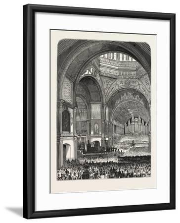 Australia: Opening of the Exhibition at Melbourne--Framed Giclee Print