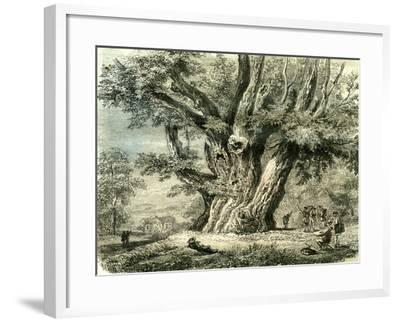 Prilly Lac De Geneve Switzerland 19th Century--Framed Giclee Print