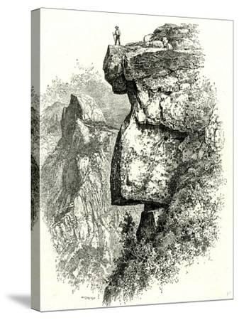 Yosemite Valley Upon Glacier Point USA 1891--Stretched Canvas Print
