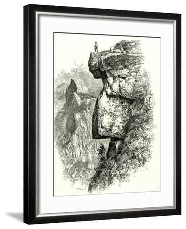 Yosemite Valley Upon Glacier Point USA 1891--Framed Giclee Print