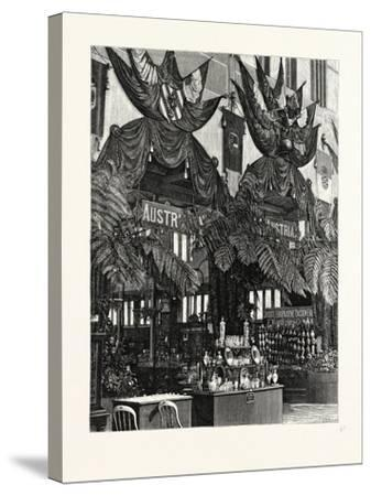 Floral Decoration of the Austrian Courts--Stretched Canvas Print