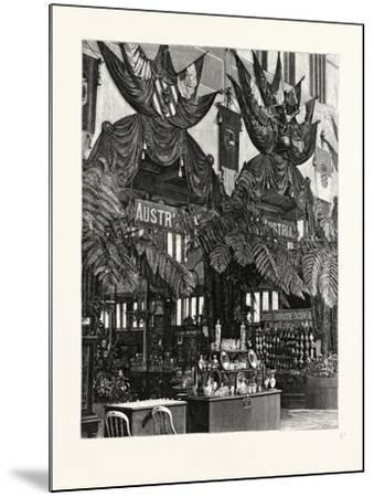 Floral Decoration of the Austrian Courts--Mounted Giclee Print