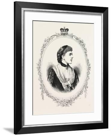 The Duchess of Westminster, 1882, UK--Framed Giclee Print