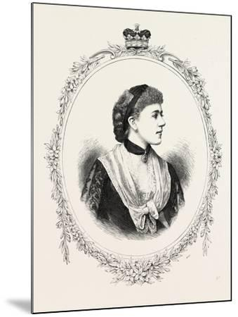 The Duchess of Westminster, 1882, UK--Mounted Giclee Print