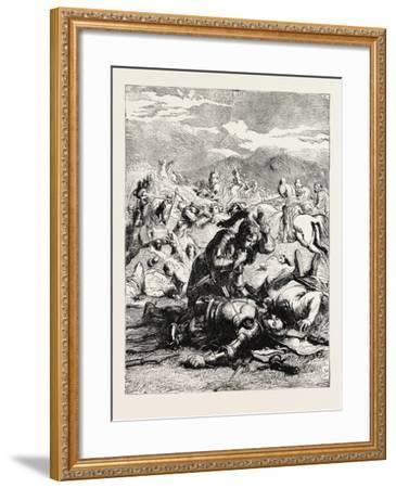 Battle of Otterbourne (Chevy Chase)--Framed Giclee Print