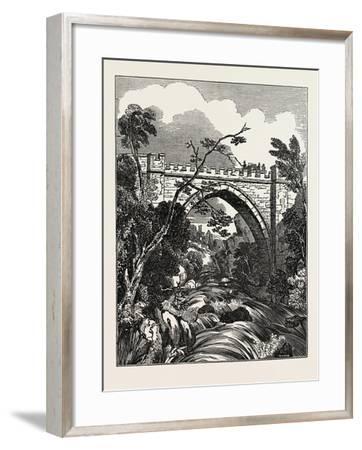 The Abbey Bridge. Rokeby, Yorkshire, UK--Framed Giclee Print