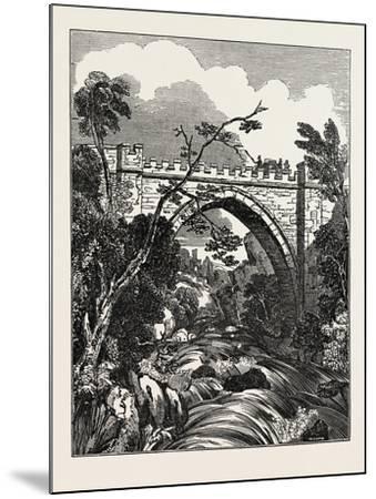 The Abbey Bridge. Rokeby, Yorkshire, UK--Mounted Giclee Print