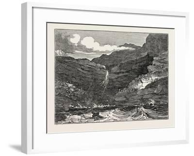 The Isle of Wight: Black Gang Chine, UK--Framed Giclee Print