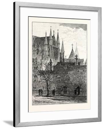 South Transept Westminster Abbey London--Framed Giclee Print