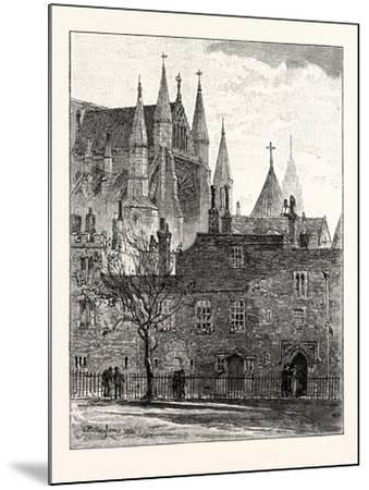 South Transept Westminster Abbey London--Mounted Giclee Print