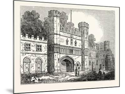 The Gateway at Battle Abbey Sussex--Mounted Giclee Print