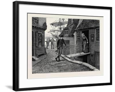 Kit, a Memory; Kit and the Postmistress--Framed Giclee Print