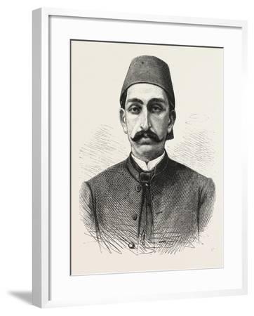 The New Sultan of Turkey, Hamid II, 1876--Framed Giclee Print