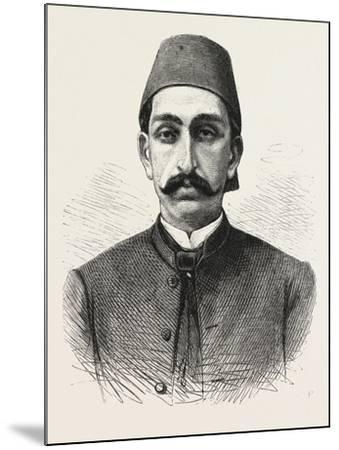 The New Sultan of Turkey, Hamid II, 1876--Mounted Giclee Print