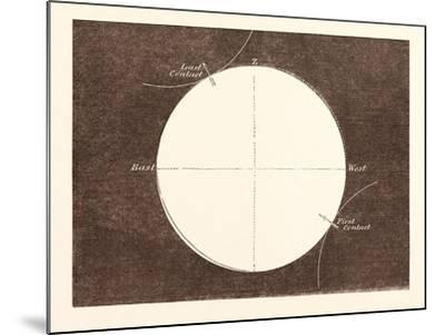 Eclipse of the Sun, March 15, 1858--Mounted Giclee Print