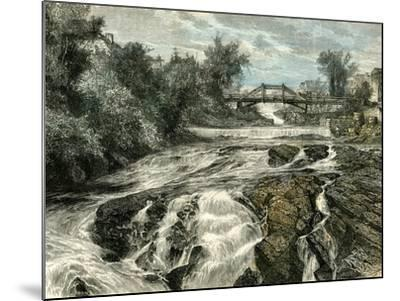Falls of Lorette Canada, 19th Century--Mounted Giclee Print