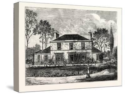 Edinburgh: Heriot's Hill House--Stretched Canvas Print