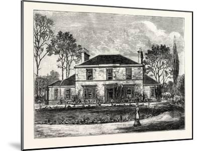 Edinburgh: Heriot's Hill House--Mounted Giclee Print