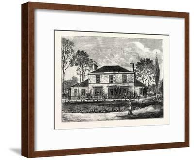 Edinburgh: Heriot's Hill House--Framed Giclee Print