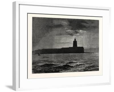 The Lighthouse, Cadiz, Spain--Framed Giclee Print